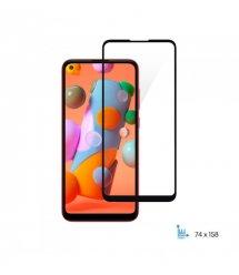 Защитное стекло 2E Basic для Samsung Galaxy A11 (A115F) , 2.5D FCFG, black border