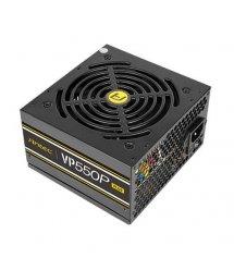 Блок питания Antec Value Power VP550P Plus EC (550W) 80+, aPFC, 12см,24+8,1*FDD,7*SATA,2*PCIe,+2