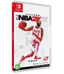 Игра Switch NBA 2K21