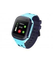 GoGPSme Телефон-часы с GPS трекером K16[K16BL]