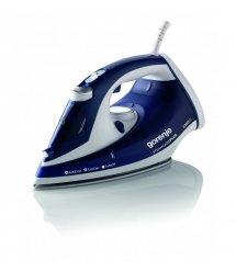 Утюг Gorenje SIH2200BLC/ 2200 Вт/отпаривание/ автоотключение/самоочистка/керамич.покрытие/сине-белый
