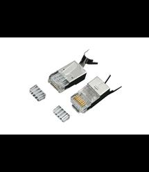 Коннектор OK-net RJ-45 Кат.6А FTP 50U 1.5мм (OK-J203)