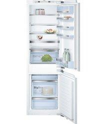Холодильник встраиваемый Bosch KIN86AFF0 с нижней морозильной камерой - 177х56см/257л/NoFrost/А++