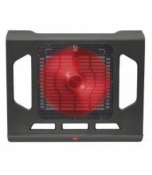"""Подставка для ноутбука Trust GXT 220 Kuzo (17.3"""") RED LED BLACK"""