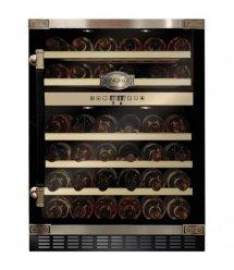 Встраиваемый винный шкаф Kaiser K64750AD - 82см/2 зоны/46 бутылок/5 полок/черный
