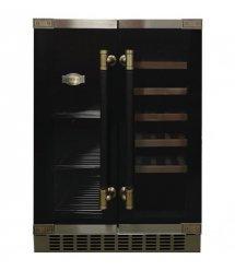 Встраиваемый винный шкаф Kaiser K64800AD - 82см/2 зоны-для вина и пива/20+46/черный