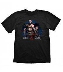"""Футболка God of War """"Kratos & Atreus"""", размер M"""