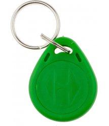 Брелок бесконтактный RFID с кодом EM4100 EM Marine 125Khz (пластик, цвет зеленый), цена за штуку
