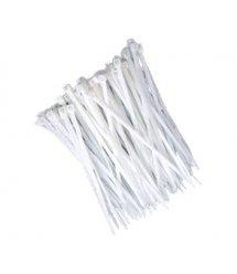 Стяжки белые Courbi 3,6x200 мм