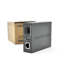 Медиаконвертер Mercury MCG11A-3 А (IC+175), 1310 WDM, 10M - 100M - 1000M, (0 +70C), 20km + блок питания 5V 2A (евро вилка) Q10