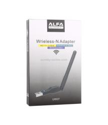 Беспроводной сетевой адаптер с антенной 10см Wi-Fi-USB LV-UW07 - 5370, 802.11bgn, 300MB, 2.4 GHz, WIN7 - XP - Vista - 2K - MAC -