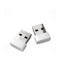 Беспроводной сетевой адаптер Wi-Fi-USB MERCURY MW150US, 802.11bgn, 150MB, 2.4 GHz, WIN7 - XP - Vista - 2K - MAC - LINUX, BOX Q40