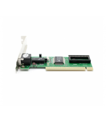 Сетевой адаптер Merlion, 8139D, 10 - 100 Mb - s LAN, PCI, Realtek, OEM Q500