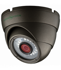 Антивандальная AHD камера для внутренней и наружной установки Green Vision GV-016-AHD-E-DOS13-20 gray