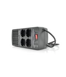 Стабилизатор напряжения релейный Europower EPX-604 600VA 300W, input:184~276V, output:220V10%, 4 SHUKO, Q