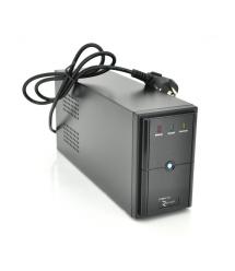 ИБП Ritar E-RTM600 (360W) ELF-L, LED, AVR, 2st, 2xSCHUKO socket, 1x12V7Ah, metal Case Q4 (370*130*210) 4,8 кг (310*85*140)