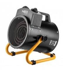 Обогреватель тепловая пушка NEO TOOLS 2 кВт, регулировка, нерж. сталь, IPX4, 50м2, 330 м3/ч