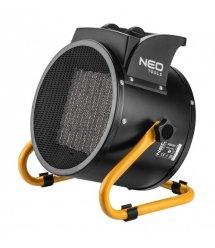 Обогреватель тепловая пушка керамический NEO TOOLS 3 кВт, PTC, 60м2, 280 м3/ч