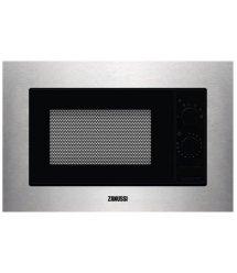Микроволновая печь Zanussi ZMSN5SX встраиваемая 17 л / электронное управление / нерж. сталь/черная