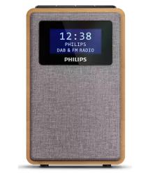 Радиочасы Philips TAR5005 FM/DAB+, mono, 1W, LCD