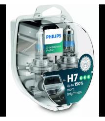 Лампа галогенная Philips H7 X-treme VISION PRO +150%, 3700K, 2шт/блистер