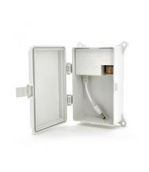 Импульсный адаптер питания YOSO BZT-1225DKM 12В 2.5А штекер 5,5 - 2,1 настенный + переходник 5,5 - 2,5