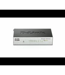 Коммутатор D-Link DSG-1008D 8 портов Ethernet 10 - 100 Мбит - 1000 Мбит - сек, BOX Q200