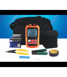 Набор инструментов и тестеров для работы с оптическим кабелем из 8 предметов