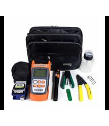 Набор инструментов и тестеров для работы с оптическим кабелем из 8 предметов -2