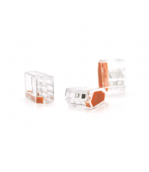 Клемма соединительная 3-проводная WAGO К773-253 для распределительных коробок, 3-pin, прозрачная