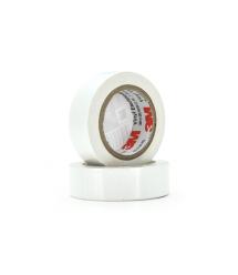 Изолента 3M 0,15мм*18мм*20м (белая), диапазон рабочих температур: от - 10С до + 80С, высокое качество!!!, 10 штук в упаковке, це