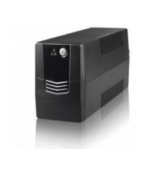 ИБП Merlion Velli 600 (360W) LED, 162-290VAC, AVR 1st, 2 SCHUKO, 1x12V7Ah, plastik Case Q4 (279x101x142) 4,2кг