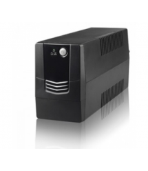 ИБП Merlion Velli 800 (480W) LED, 162-290VAC, AVR 1st, 2 SCHUKO, 1x12V9Ah, plastik Case Q4 (279x101x142) 4,9кг