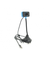 Вебкамера с гарнитурой MGLE, 1.3Mpx, пласт. корпус, Black, OEM