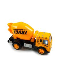 Детская машинка бетономешалка, yellow