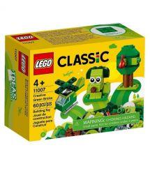 Конструктор LEGO Classic Набор для конструирования зеленый 11007