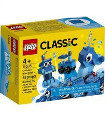 Конструктор LEGO Classic Набор для конструирования синий 11006