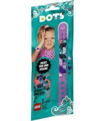 Конструктор LEGO Dots Браслет Сверкающий единорог 41902