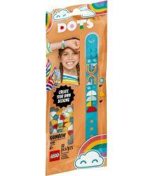 Конструктор LEGO Dots Браслет Радуга 41900