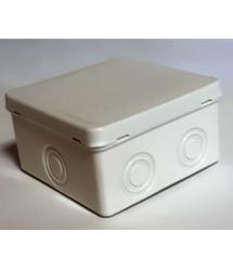Коробка распределительная наружная 94x94 цвет белый