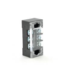 Клеммная колодка 3-разрядная TB-1503 15A - 600V, сечение провода 0,5-1,5мм2, 100 шт в упаковке, цена за штуку