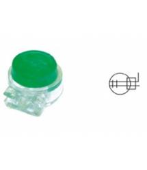 Скотч-лок изолированный с гелем тип К5 (100шт) Зеленый