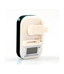 Универсальное зарядное устройство с LCD LXF813 для батарей 4.25V 0.25A,220V, 1* USB выход, Black, Box