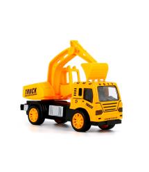 Детская машинка-экскаватор, yellow