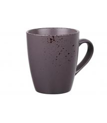 Чашка Ardesto Lucca керамическая, 360 мл, Grey brown