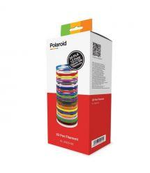 Polaroid Набор нити 1.75мм PLA для ручки 3D (22 цвета)
