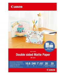 "Canon 7""x10"" Double Sided Matte Paper MP-501, 20л."