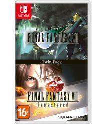 Square Enix Final Fantasy VII & Final Fantasy VIII Remastered (Switch)