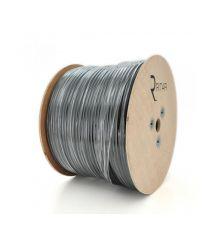 Кабель коаксиальный RITAR B100-F690BV 1,02 мм.CCS, 112x0.12m CCA 75 Ом FPE, оболочка 6,91мм черная PVC 10м