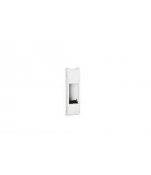 DLP Legrand колонны, суппорт розеточного блока, 4 модуля, 215мм, белый